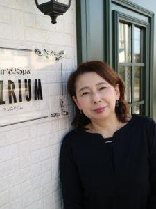 美容室ANZRIUM スタイリスト 井上美穂子